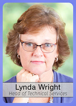 Lynda Wright trading card