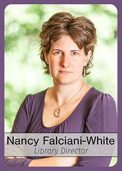 Nancy Falciani-White trading card