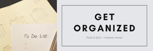 Get Organized graphic