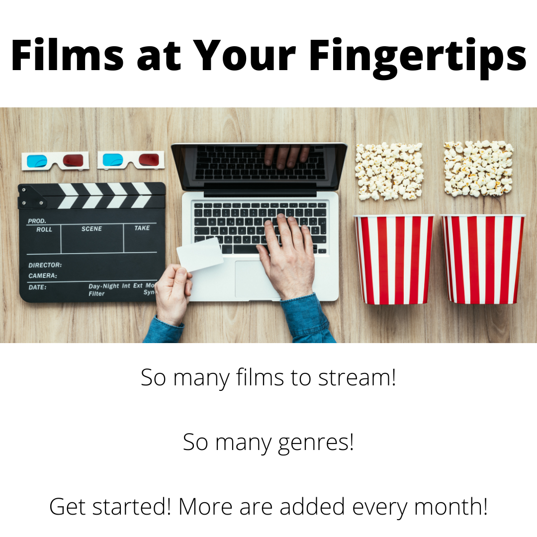 Hands on a laptop keyboard popcorn film relate images