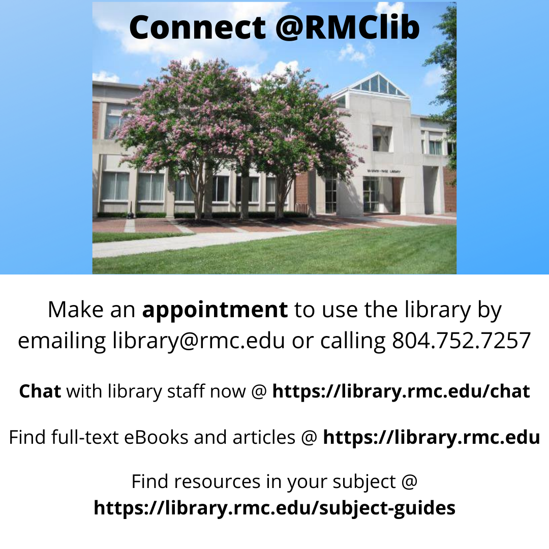 Image of McGraw-Page Library and links to resources