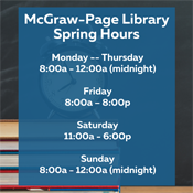 Spring Hours 2021