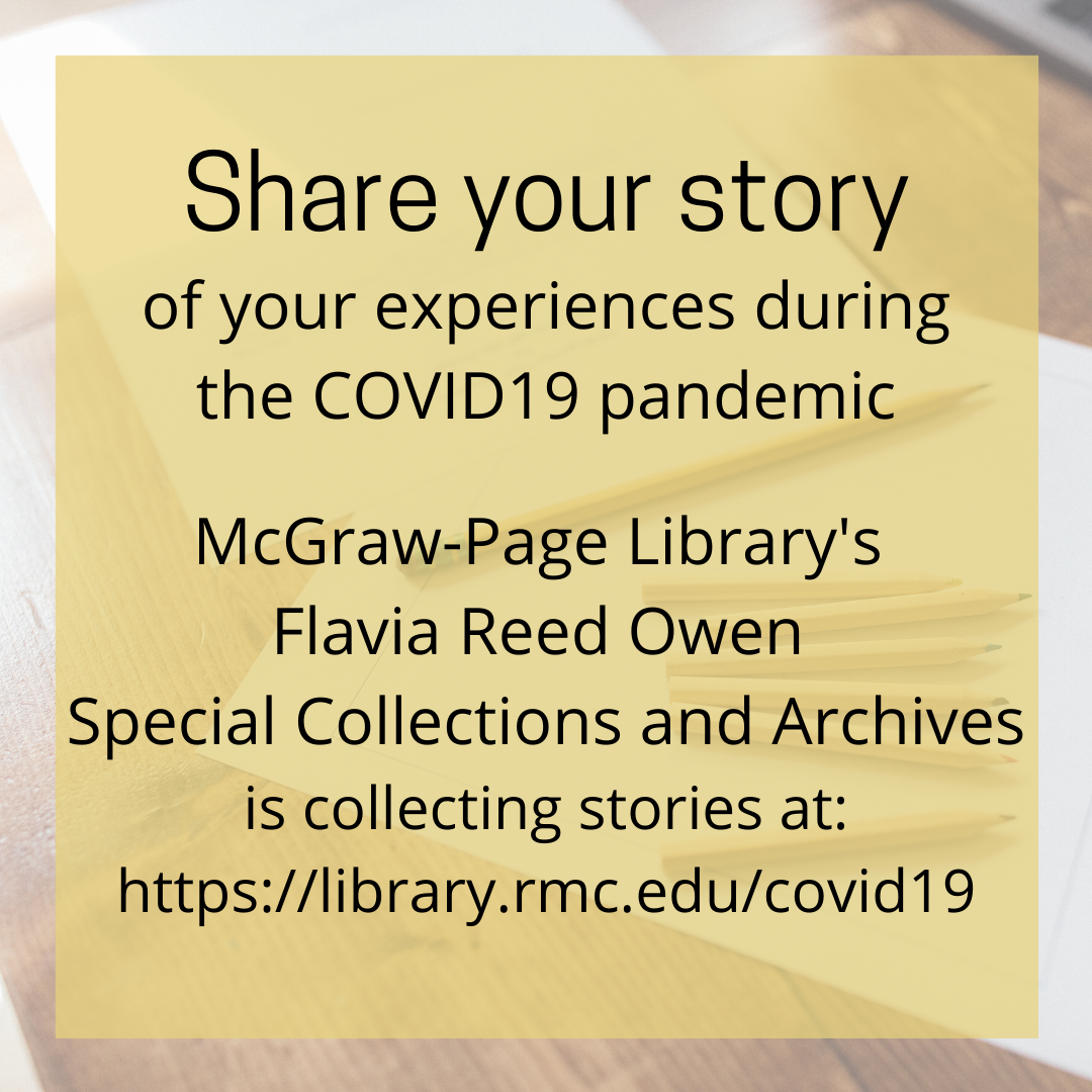 Share your COVID-19 story @RMClib
