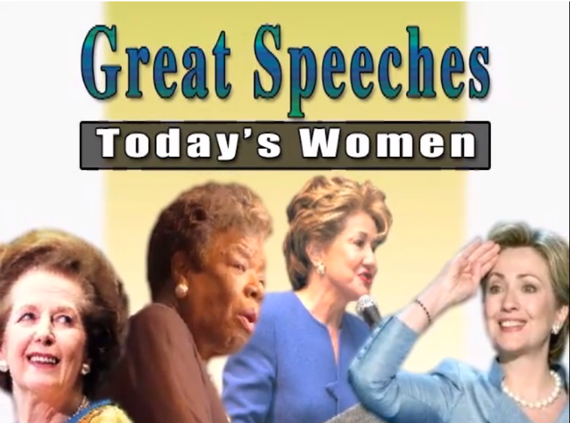 Great Speeches Today's Women
