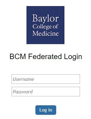 BCM Federated login