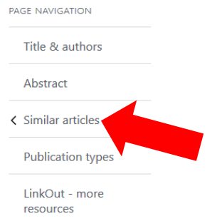 Page Navigation: Similar Articles