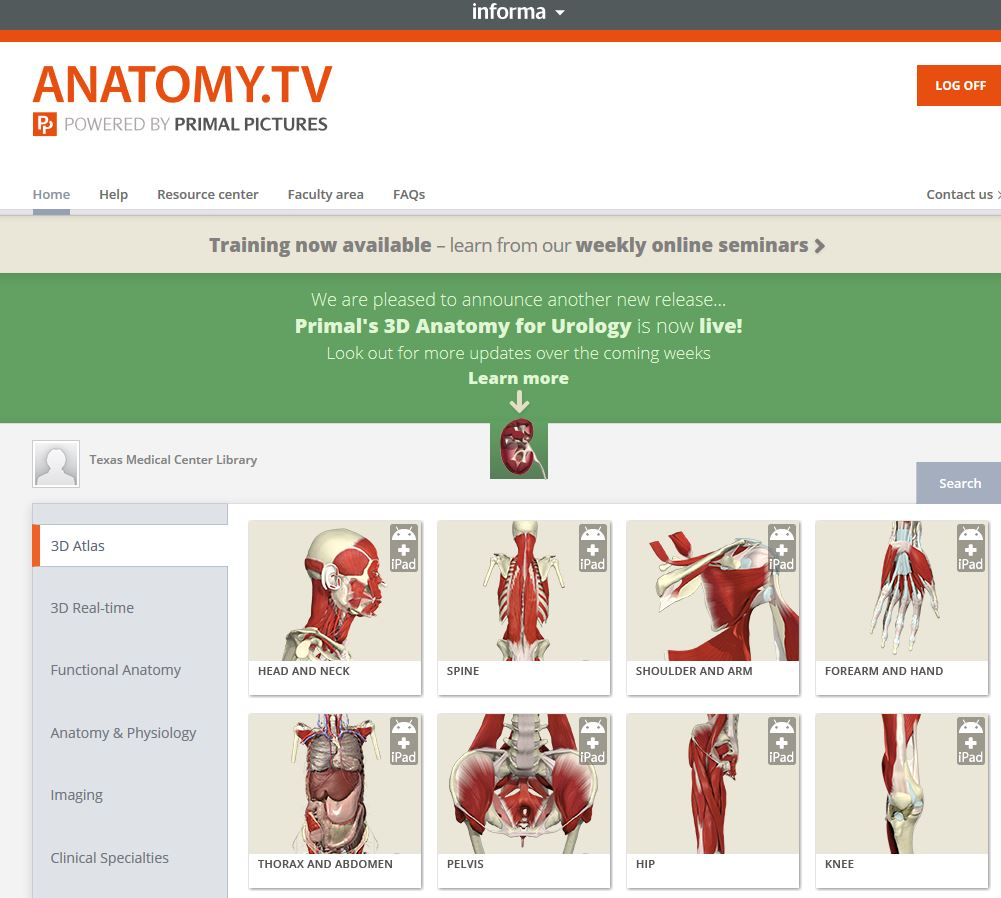 Anatomy.TV logged in