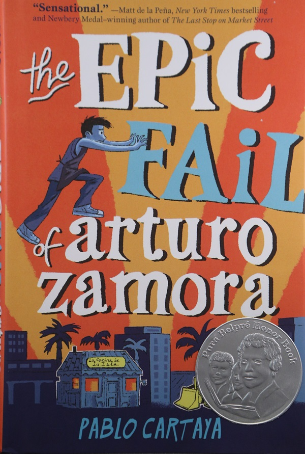 cover of epic fail of arturo zamora