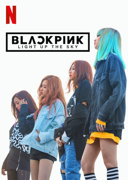 BLACKPINK: Light Up the Sky Poster