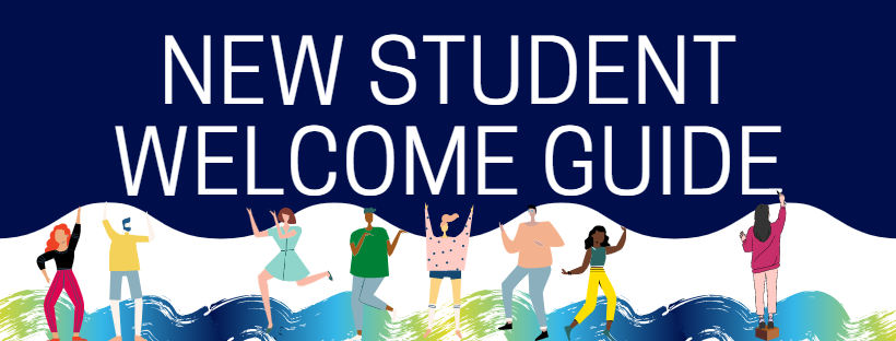 New Student Welcome Guide Header
