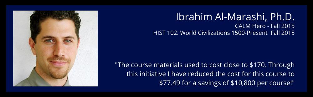 Ibrahim Al-Marashi Ph.D.