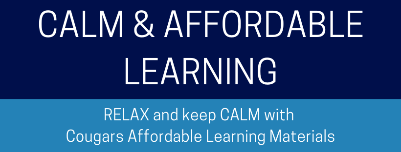 CALM & Affordable Learning LibGuide