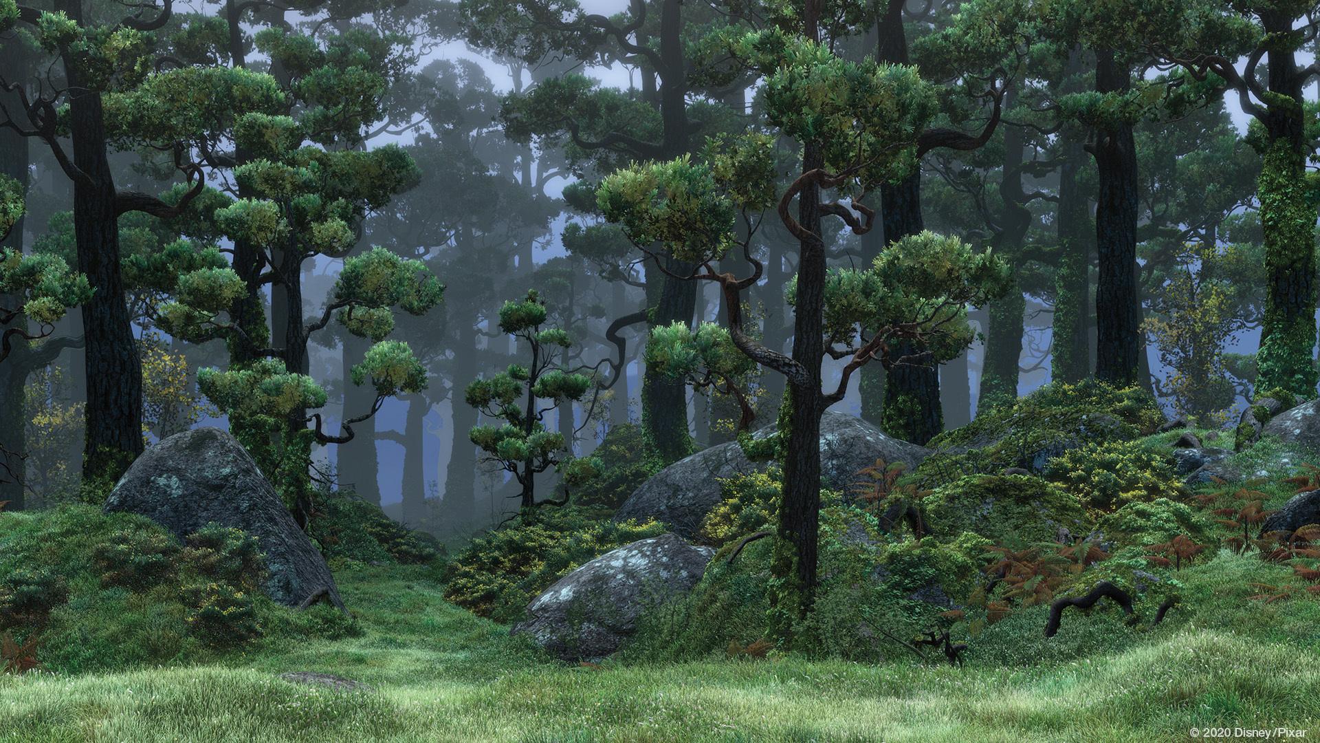 Zoom Background Pixar Brave
