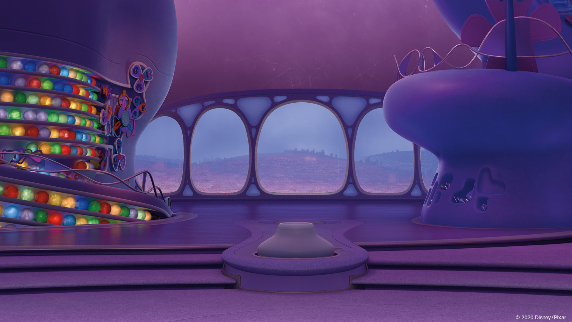 Zoom Background Inside Out