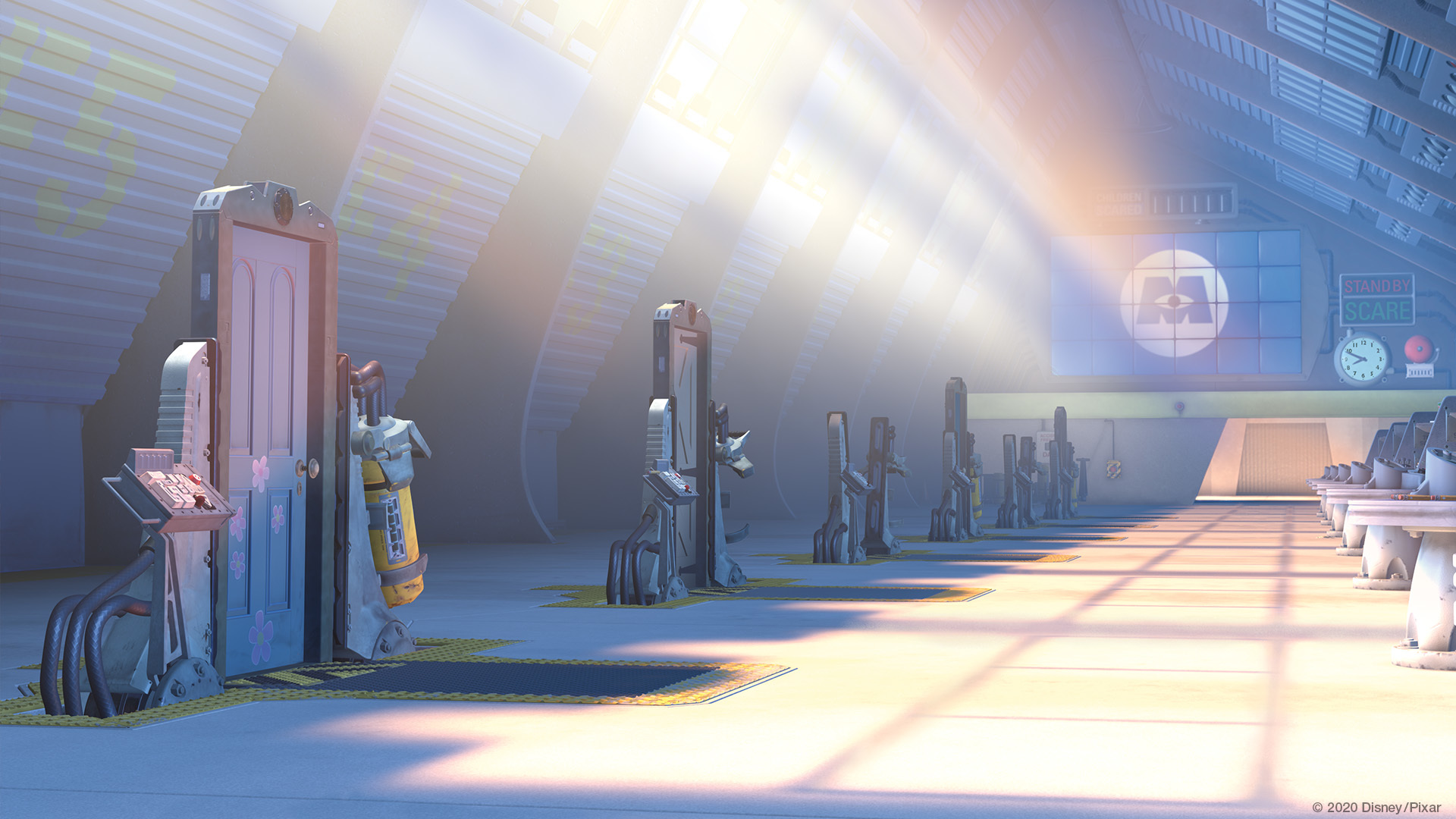 Zoom Background Monsters Inc