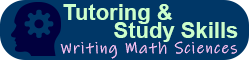 Tutoring & Study Skills: Writing, Math, Science