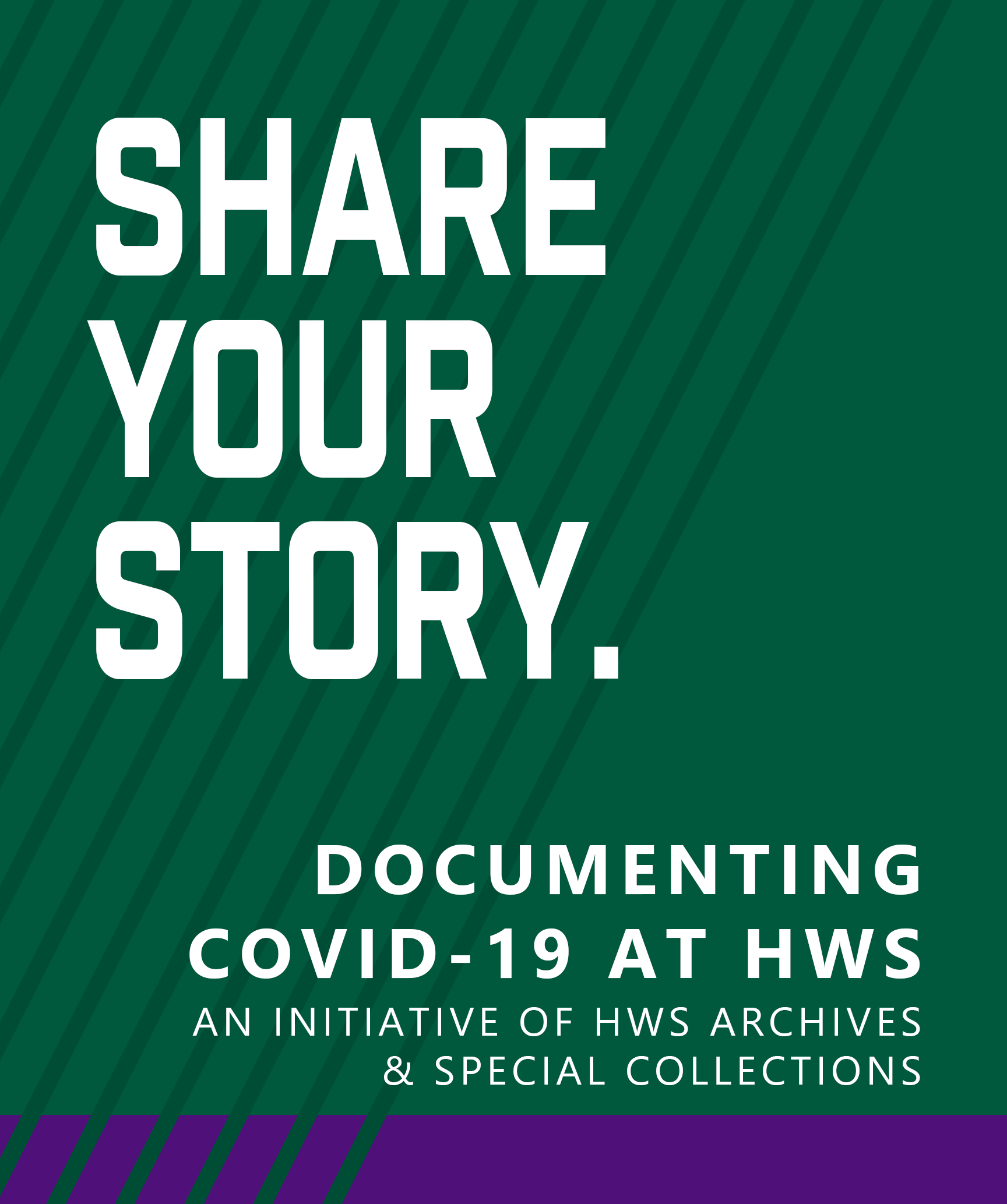 Share Your Story: Documenting COVID-19 at HWS