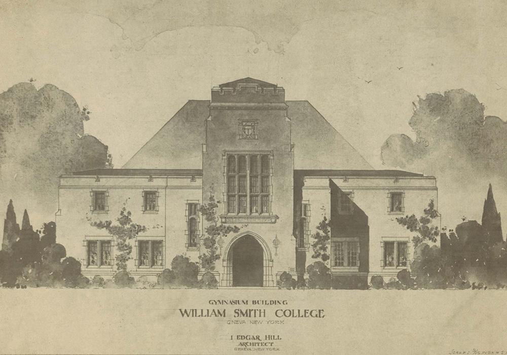 Campus Buildings that Never Were--exhibit cover photo