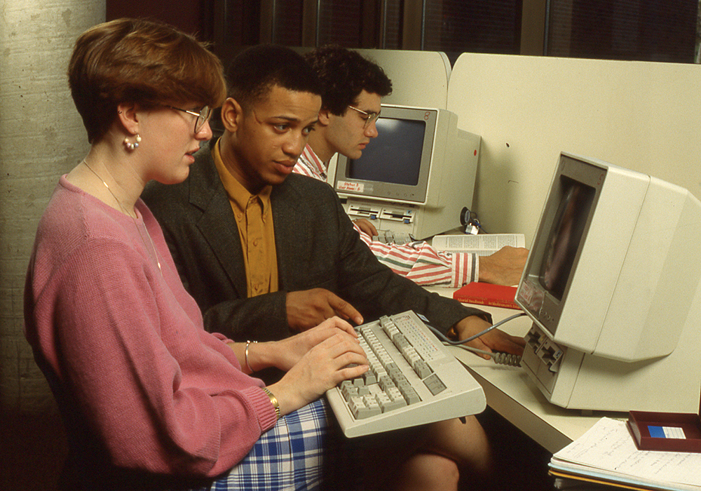 Computers at HWS: A History--exhibit cover photo