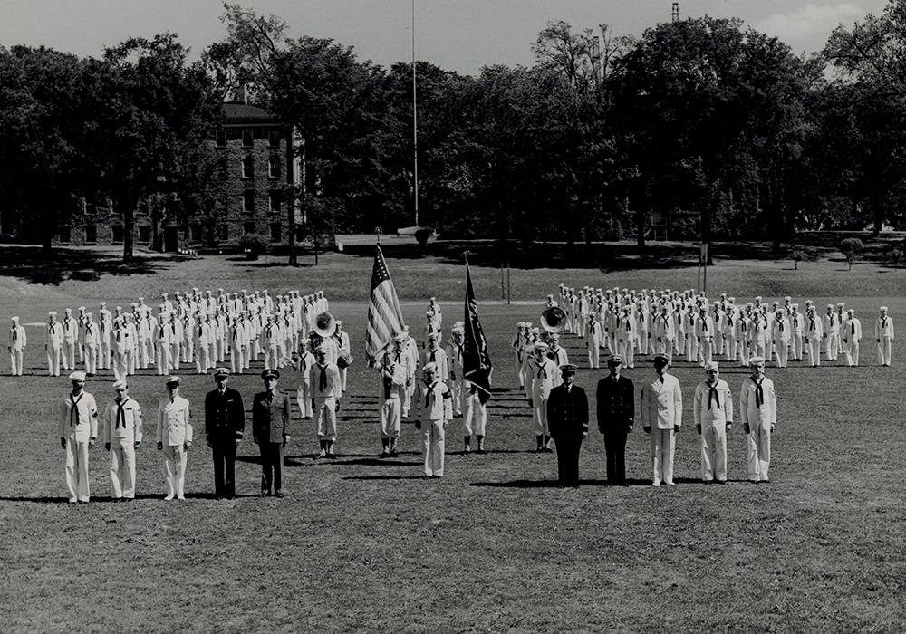 Navy V-12 Training Program, 1943–1945--exhibit cover photo