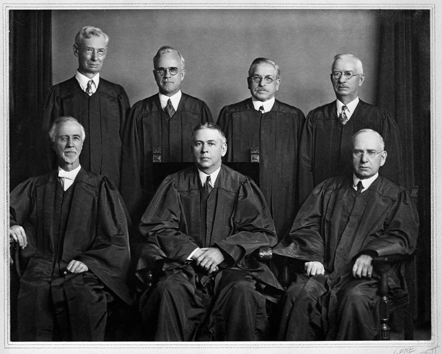 MN Supreme Court Justices and Commissioners 1930