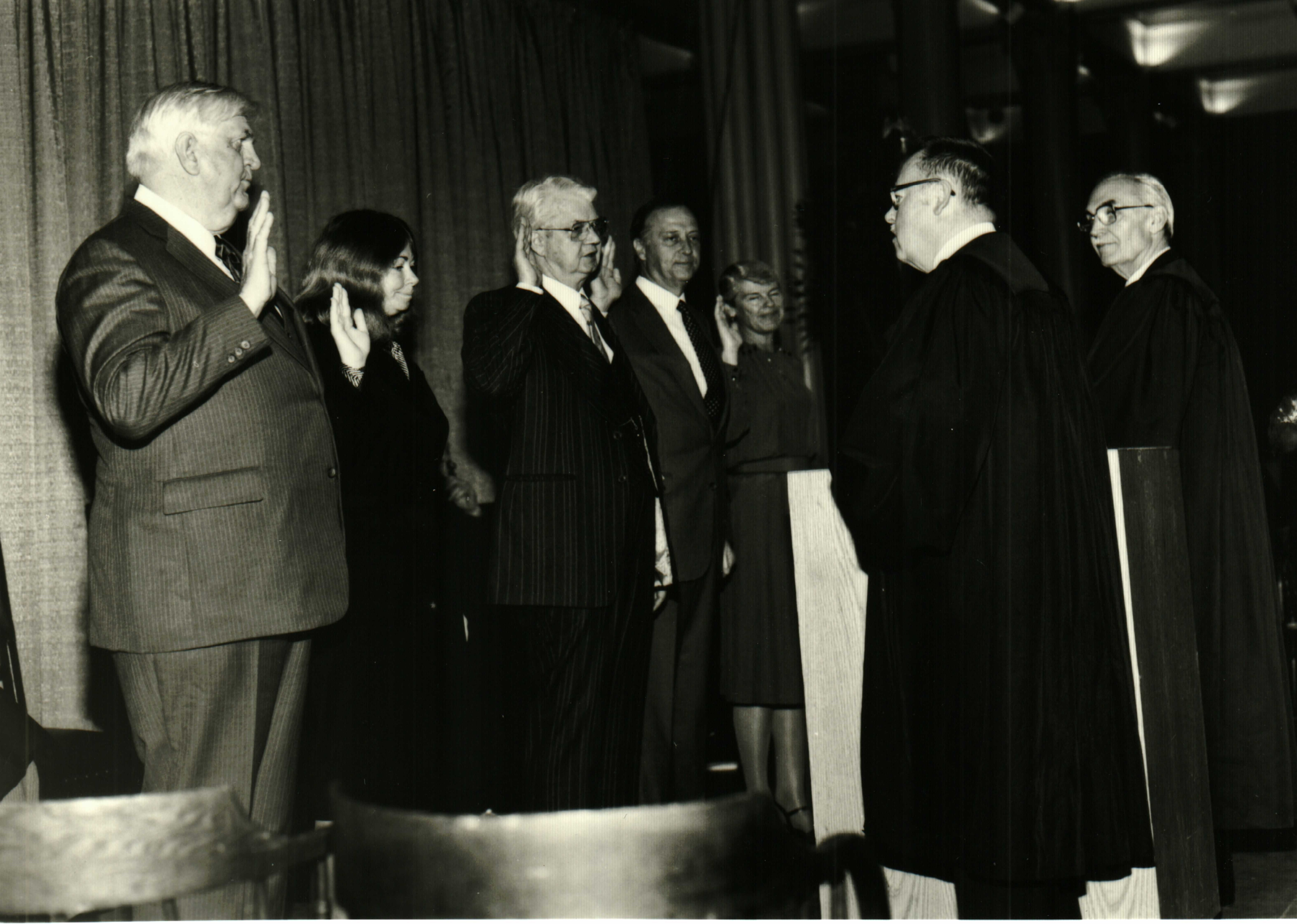 Court of Appeals Swearing In Ceremony 1983