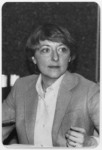 Sandra S. Gardebring, Commissioner of the Minnesota Pollution Control Agency from 1977-1978 and 1983-1984