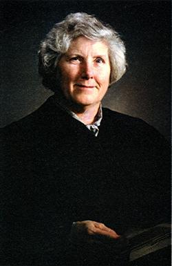Justice Rosalie Wahl Portrait