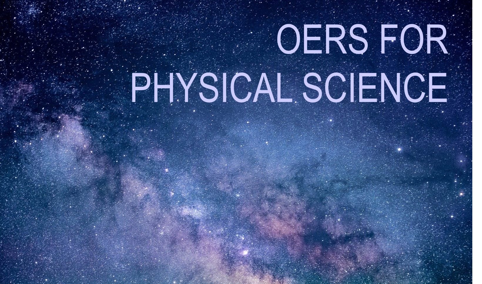 OER's for Physical Science