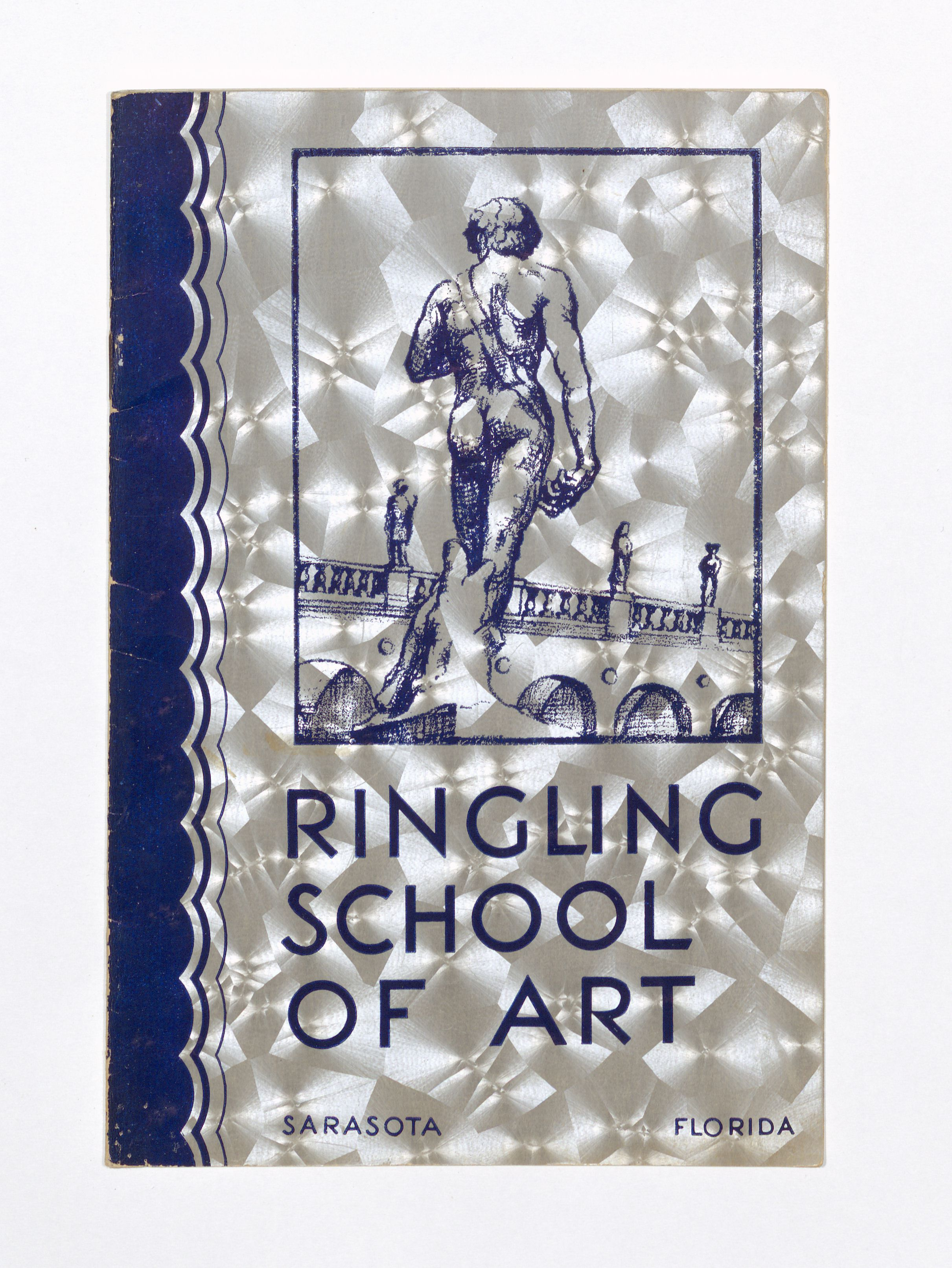 Cover image of Ringling School of Art academic catalog from 1938-39