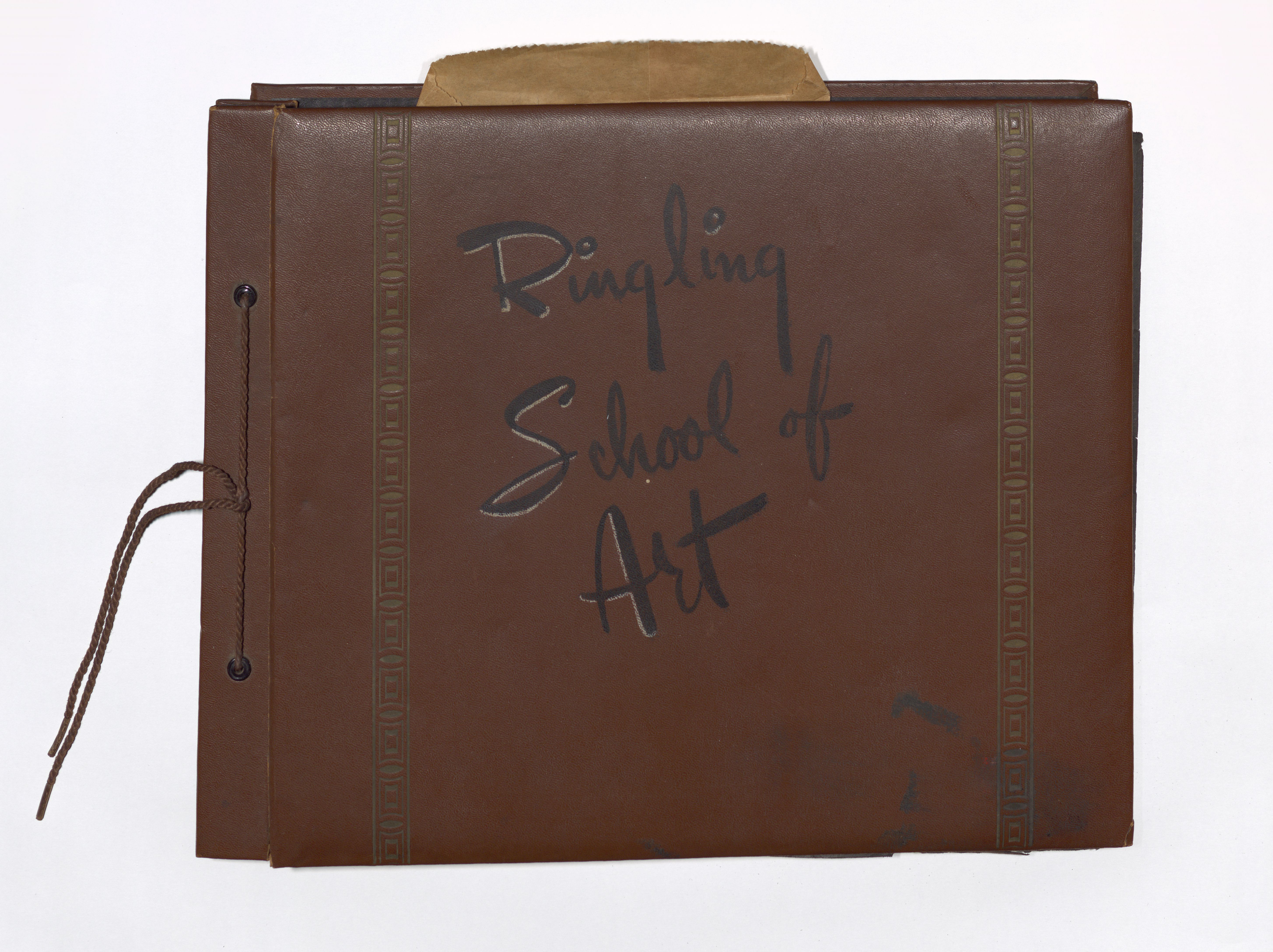 Cover image of Ringling School of Art photo album from 1951-53