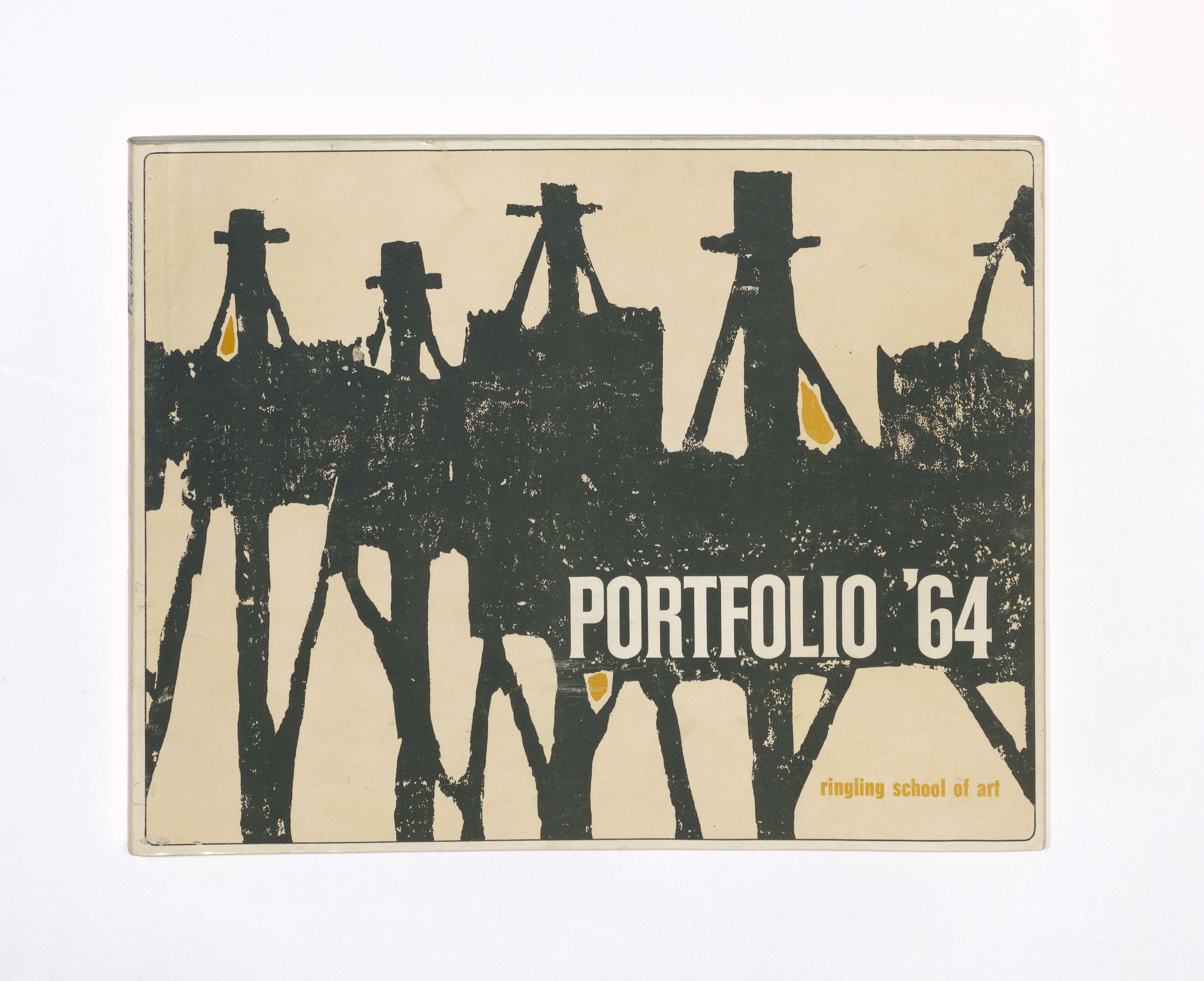 Cover image of Porfolio yearbook from 1964