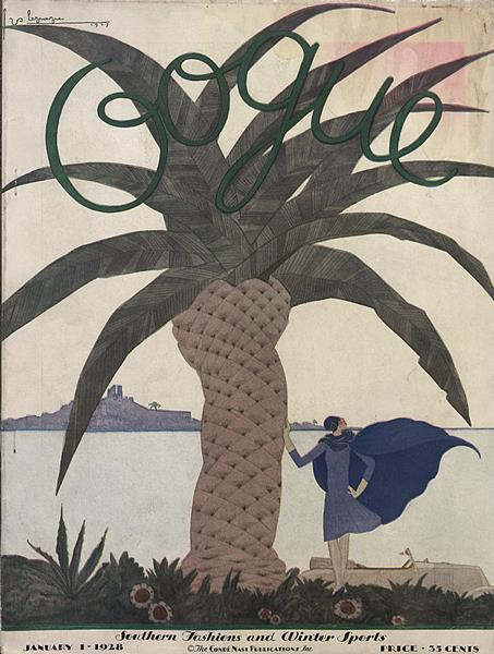 Vogue vol. 71 #1 January 1, 1928 cover image