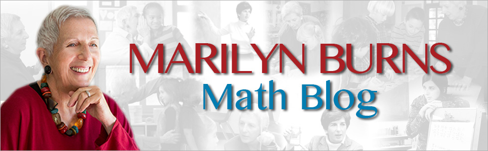 Marilyn Burns Math Blog