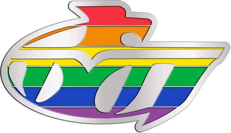 Thunderbird Pride lapel pin