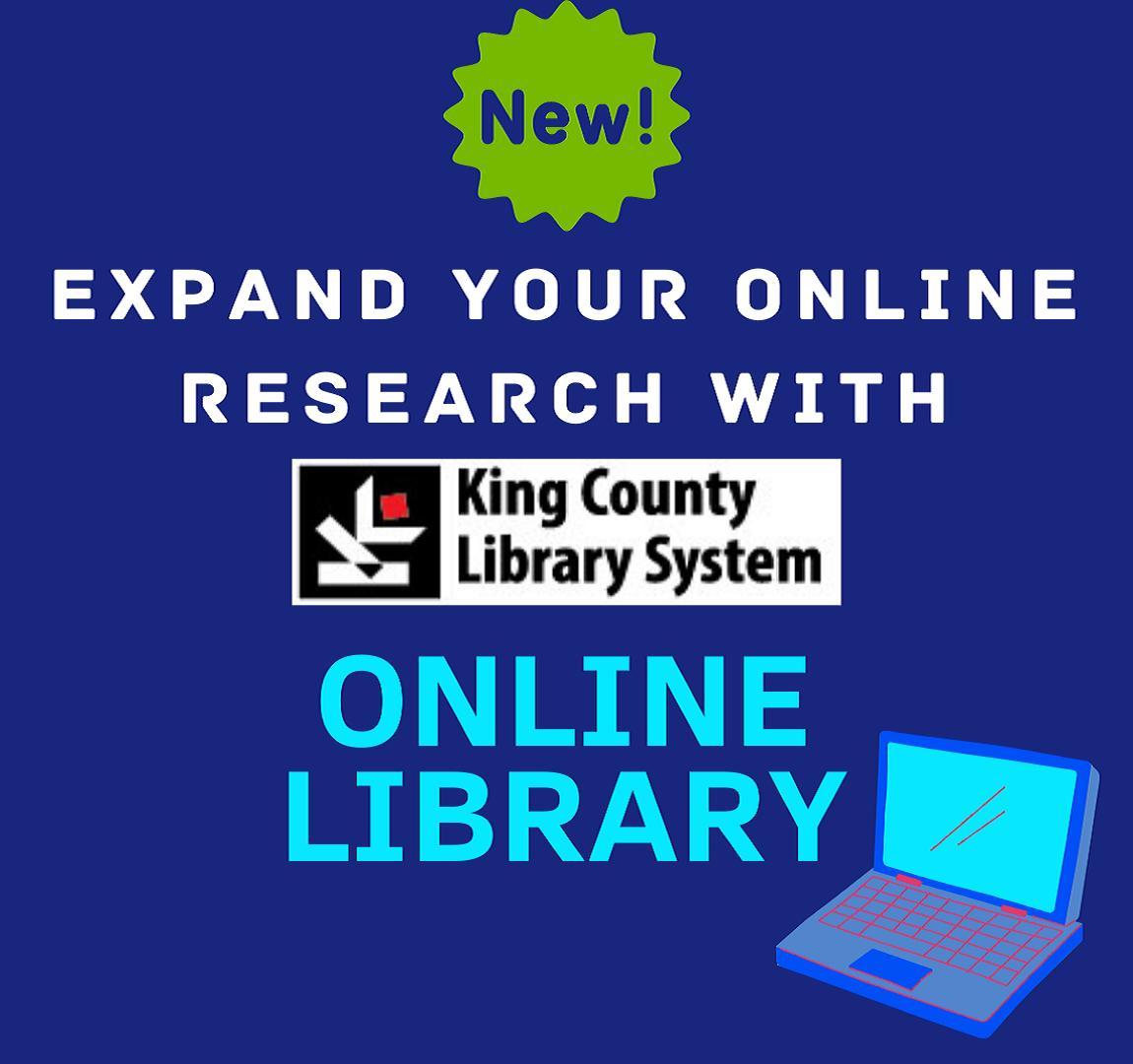 Expand your research with KCLS Online Library