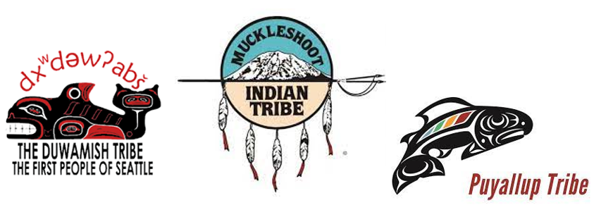 Duwamish, Muckleshoot and Puyallup tribes