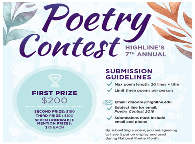 Student poetry contest detail