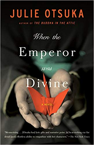 Book cover for When the Emperor was Divine