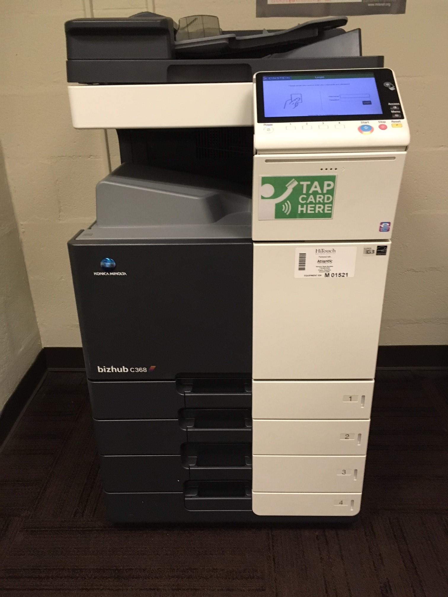 printer, photocopier, scanner