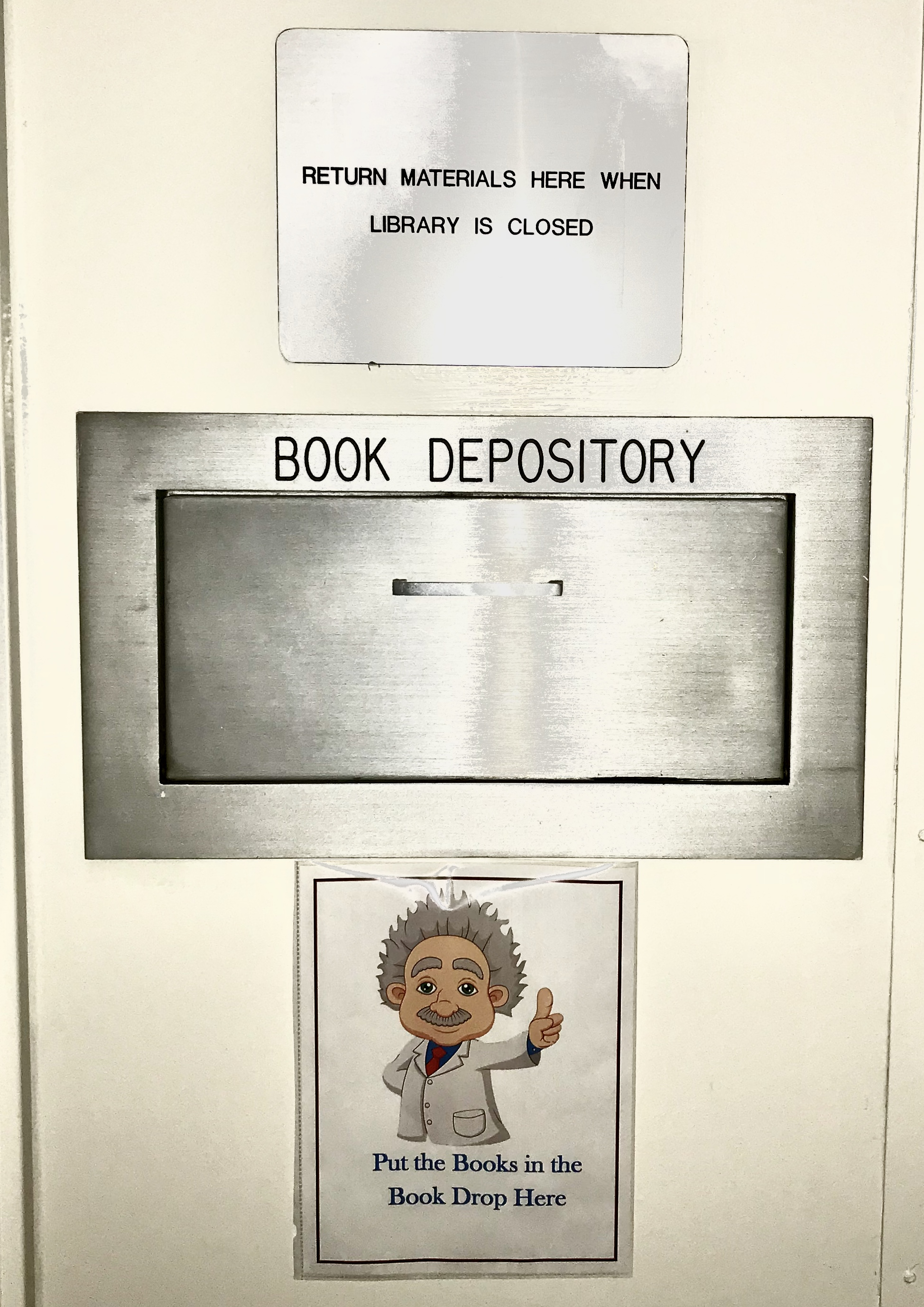 Library book return