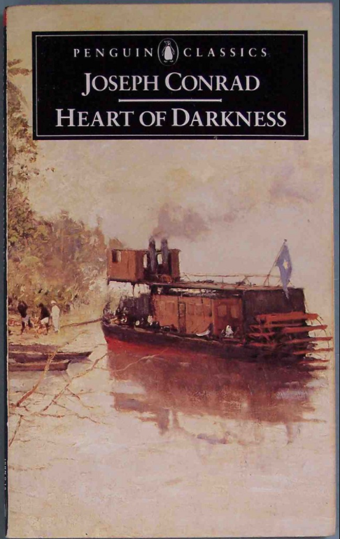 Book Cover of The Heart of Darkness by Joseph Conrad