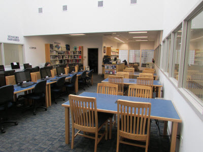 Cherokee county campus library