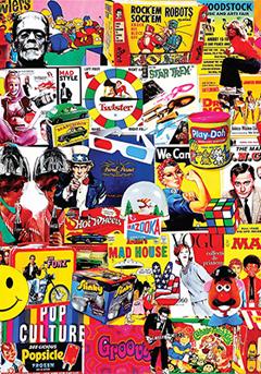 Popular culture poster
