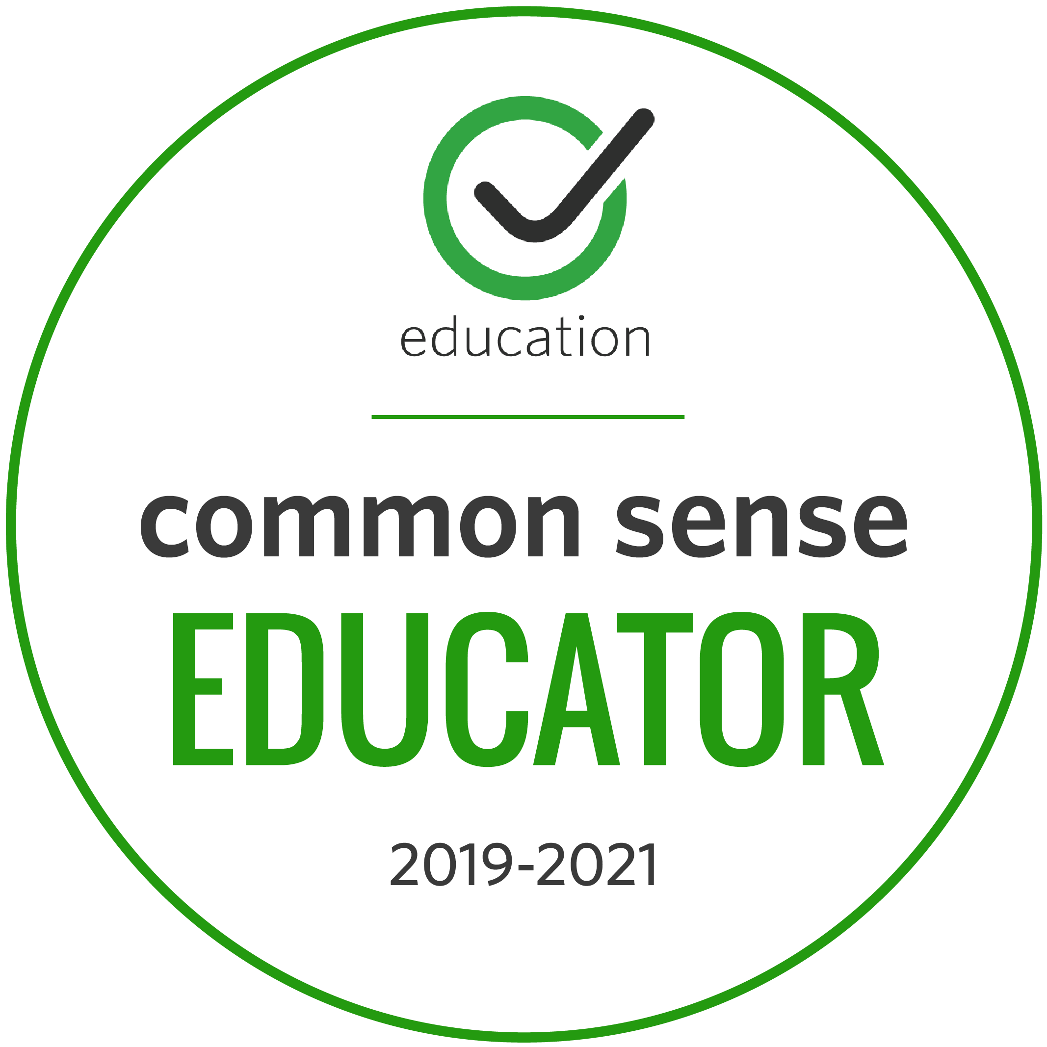 Common Sense Educator badge