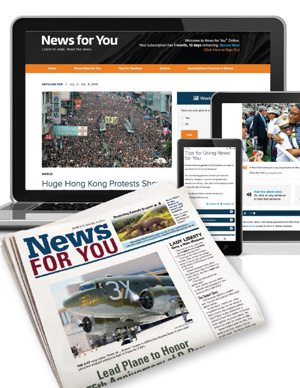 News for You Online (New Readers Press)
