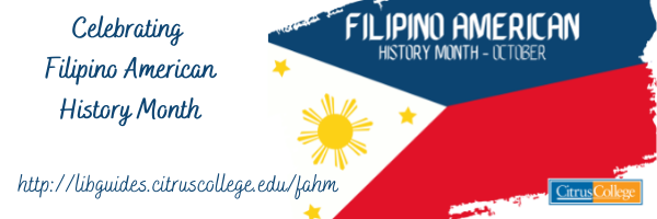 Filipino American History Month- October