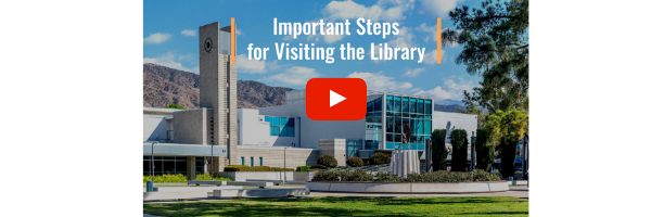 Important Steps to Visit the library - video link