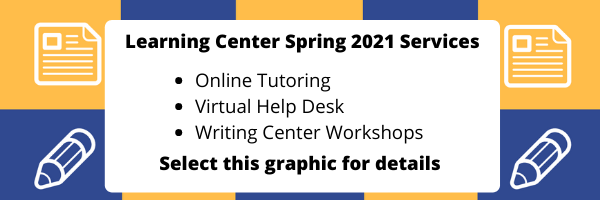 Learning Center Spring Hours