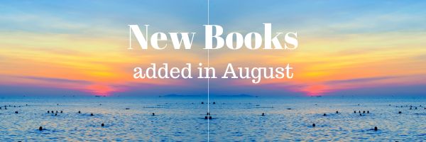New Books added in August - people in the ocean